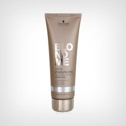 Schwarzkopf Professional BlondMe Tone Enhancing Bonding Ice šampon 250ml